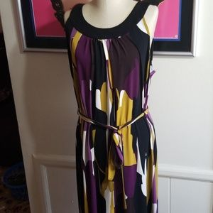 ALFANI - PRINT SHEATH DRESS size 2X